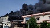 અમદાવાદઃ સેનિટાઈઝરની ફેક્ટરીમાં આગ, 10 ટન આલ્કોહોલ ખાખ