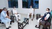 BJP અધ્યક્ષ જેપી નડ્ડાની નીતિશ કુમાર સાથે બેઠક, સીટના વિભાજનને લઇ ચર્ચા