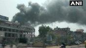 અમદાવાદમાં કેમિકલ ફેક્ટરીમાં લાગી ભિષણ આગ, ફાયરબ્રિગેડની 17 ગાડીઓ હાજર