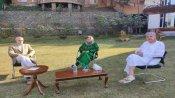 જમ્મુ કાશ્મીર: મહેબુબા મુફ્તિને મળ્યા ફારૂક અને ઉમર અબ્દુલ્લા