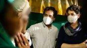 રાહુલ ગાંધીએ હાથરસ પીડિતાના પરિવાર સાથે મુલાકાતનો વીડિયો કર્યો શેર, કહ્યું - જાણો આ અન્યાયની સચ્ચાઇ