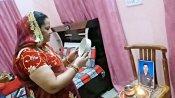 રાજસ્થાન: વીર જવાનોની પત્નીઓએ મનાવી કડવા ચોથ, પતિઓની લાંબી ઉમર માટે કરી કામના
