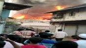 મુંબઇના મલાડ ઇલાકામાં ભિષણ આગ, ફાયર બ્રિગેડની 7 ગાડીઓ હાજર
