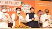 હૈદરાબાદ ચૂંટણીઃ ભાજપે જારી કર્યો ફ્રી કોરોના વેક્સીનવાળો મેનિફેસ્ટો, શાહ-યોગી સંભાળશે મોરચો