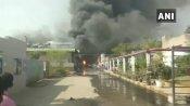 હૈદરાબાદની ફાર્માસ્યુટિકલ ફેક્ટરીમાં ભિષણ આગ, 11 લોકો દાજ્યા