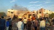 ગુજરાત: ઓએનજીસી ગેસ પાઇપલાઇનમાં વિસ્ફોટ, બે મકાનો ધરાશાયી, બેના મોત