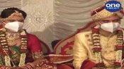 જૂનાગઢઃ ભારતીય લશ્કરમાં સૈનિક તરીકે ફરજ બજાવતા યુવક-યુવતી લગ્નગ્રંથિથી જોડાયા