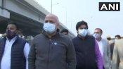 Ghazipur Border: રાકેશ ટીકૈતને મળ્યો AAPનો સાથ, સિસોદીયા મળવા પહોંચ્યા