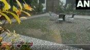 દિલ્લી-હરિયાણામાં કરા પડ્યા, ઠંડી વધી, કાશ્મીરના 9 જિલ્લામાં બરફના તોફાનનુ એલર્ટ