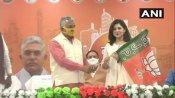 West Bengal: જેપી નડ્ડાની હાજરીમાં અભિનેત્રી પાયલ સરકારે થામ્યુ ભાજપનુ દામન