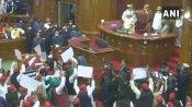 રાજ્યપાલના અભિભાષણ સાથે શરૂ થયુ બજેટ સત્ર, કોંગ્રેસ-બસપાના ધારાસભ્યોએ કર્યુ વૉકઆઉટ
