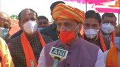 ગુજરાતમાં કોંગ્રેસ નેતૃત્વ ખતમ થઈ ગયુ, લોકોએ વિપક્ષને લાયક પણ ન સમજ્યુઃ સીએમ રૂપાણી