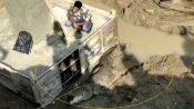 11 ફૂટ લાંબો વિશાળકાય મગર નિર્માણ-સ્થળના દલદલમાં આવી ફસાયો, ટીમે આ રીતે કર્યો રેસ્ક્યુ