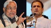 બિહાર વિધાનસભાના હોબાળા પર બોલ્યા રાહુલ ગાંધી - RSSમય થઈ ચૂક્યા છે નીતિશ કુમાર