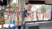 બંગાળમાં નથી અટકી રહી રાજનિતિક હિંસા, હવે વિદેશ રાજ્યનમંત્રીના કાફલા પર થયો હુમલો