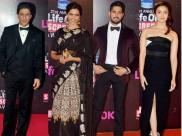 Life Ok Awards : કરણનો આવો સાહસ? શાહરુખને 'ભાઈ' કહી નાંખ્યા!