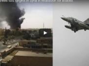 ISISને ફ્રાન્સનો જડબાતોડ જવાબ, 10 ફાઇટર પ્લેનથી સિરીયા પર હુમલો