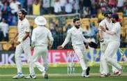 ભારતે બેંગલુરુ ટેસ્ટમાં ઓસ્ટ્રેલિયાને 75 રનથી પછાડ્યું