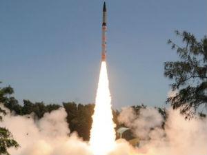 India Successfully Test Agni Ballistic Missile