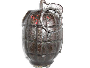 Time Bomb Found From Office Bihar