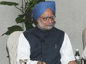 Manmohan Singh Meets President