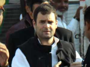 Rahul Gandhi In Kashmir With Industrialists