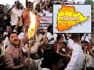 Telangana March Police Student Hyderabad Burning Again