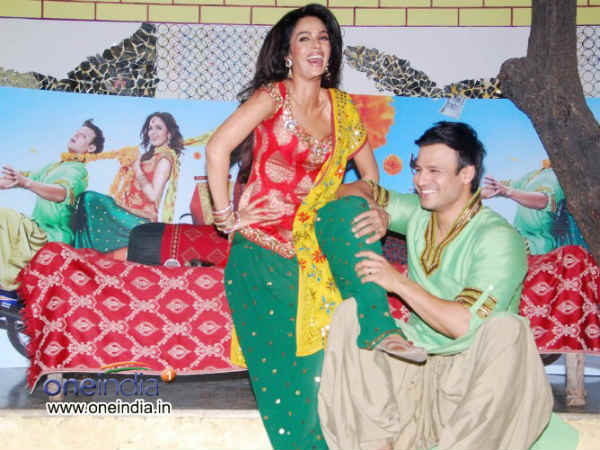 Vivek Oberoi Mallika Foot Down