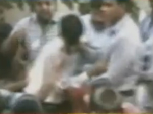 Iac Congress Workers Have Claush In Delhi
