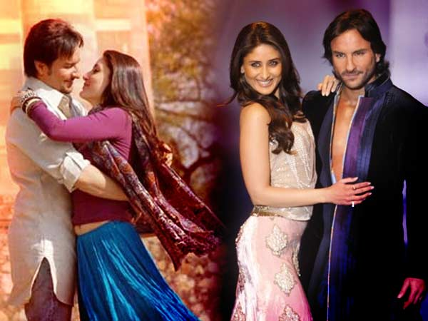 Aamir Khan Rani Mukerji Celebrate Kareena Saif Wedding