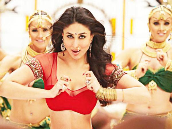 Kareena Kapoor Wears Yellow Sharara Sangeet Saif Ali