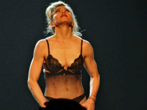 Madonna Strips Down To Support Malala