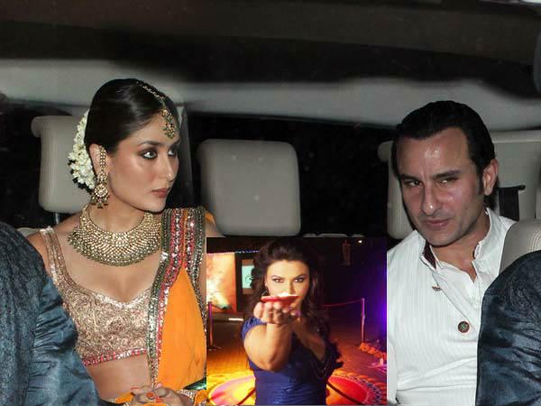 Saif Kareena Wedding Wont Last Long Rakhi Sawant