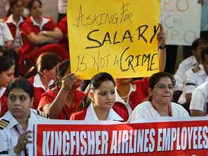 Kingfisher Lockout Crucial Meeting On Oct