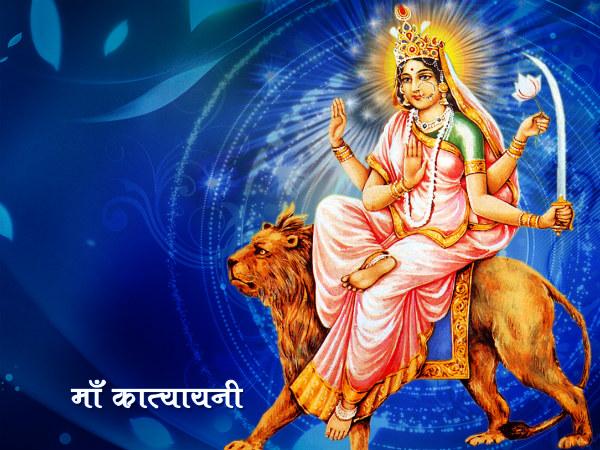 Maa Katyayini Worshiped On 6th Navratri