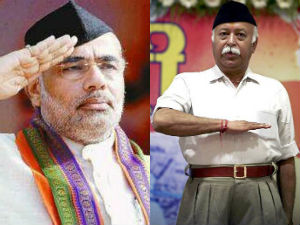 Narendra Modi To Meet Rss Chief Today