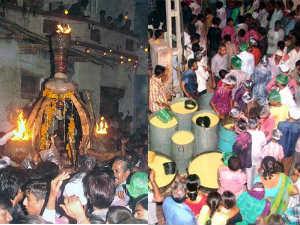 Lakhs Devotee Worship Vardayini Devi Dussehra Rupal