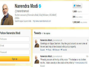 Modis Twitter Followers Crosses 1 Million Mark
