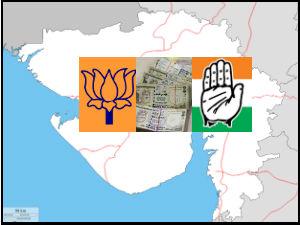 Congress Revenue Is Doubled Then Bjp In Gujarat