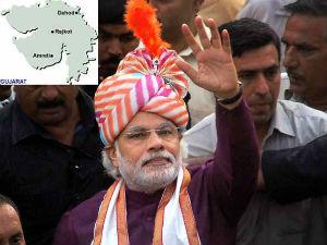 Modi Is Invincible In Gujarat India Today Org Survey
