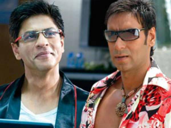 Shahrukh Khan Encourages Ajay Devgan Jthj Sos