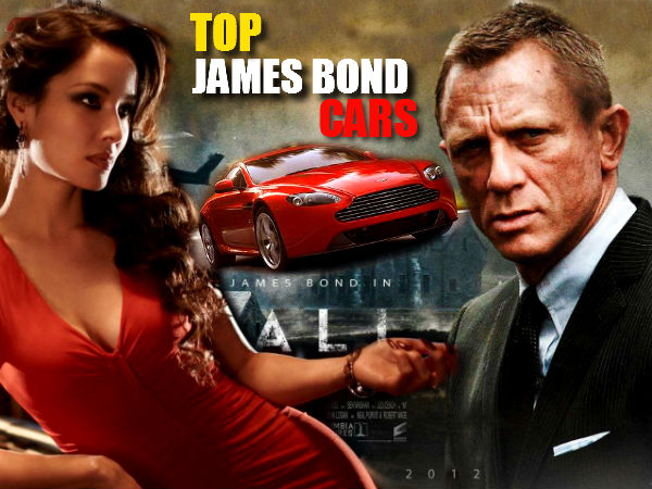 Watch Exclusive Top 10 James Bond Cars Photo Feature
