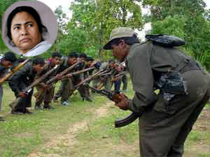 Two Maoists Offer To Surrender At Mamatas Residence