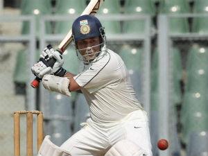 Sachin Tendulkar Hits Ton Ranji Trophy