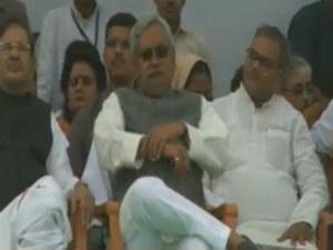 Seeking Special Status Bihar Nitish Hold Adhikar Rally