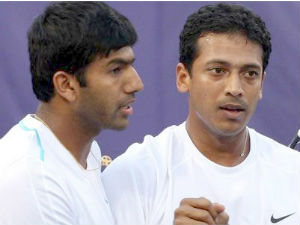 Bhupathi Bopanna Pair In Paris Masters Final