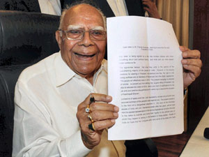 Bjp Internal War Ram Jethmalani Son Quits National Exec
