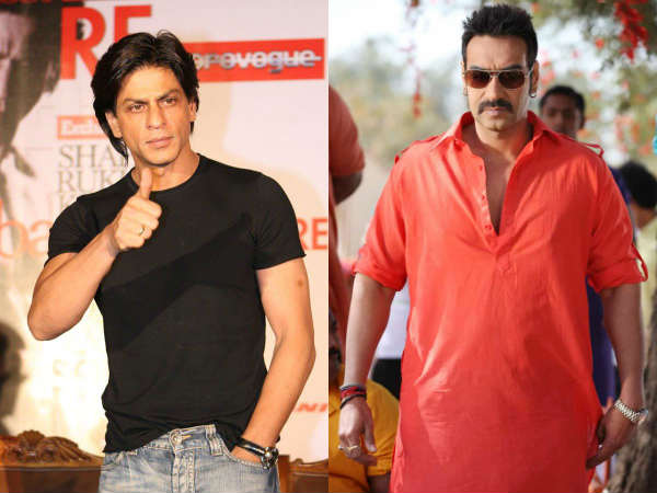 Interesting War Shahrukh Vs Ajay Devgan Diwali