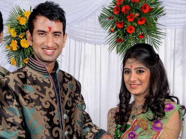 Cheteshwar Pujara Gets Engaged