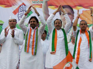 Congress Top Brass To Campaign In Gujarat